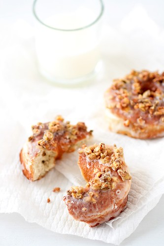 "Banana Doughnuts With Dried Banana ""Streusel"" 