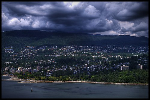 View over West Vancouver | by netsnake