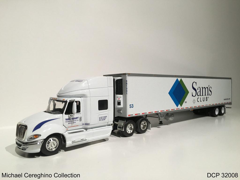 Sams Club Promotion >> Diecast replica of Wal-Mart Transportation International P ...