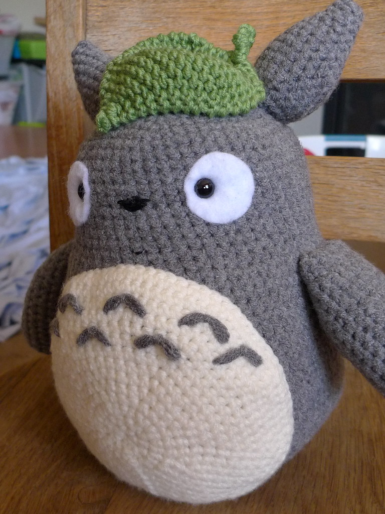 Totoro Knitting Pattern : totoro, all done! for wendy(s baby) Susan Chang Flickr