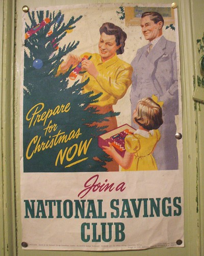 Vintage Christmas Poster : Iu0026#39;m taking this advice and ...
