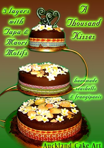 samoan wedding cakes a thousand kisses chocolate maori samoa wedding cake flickr 19639