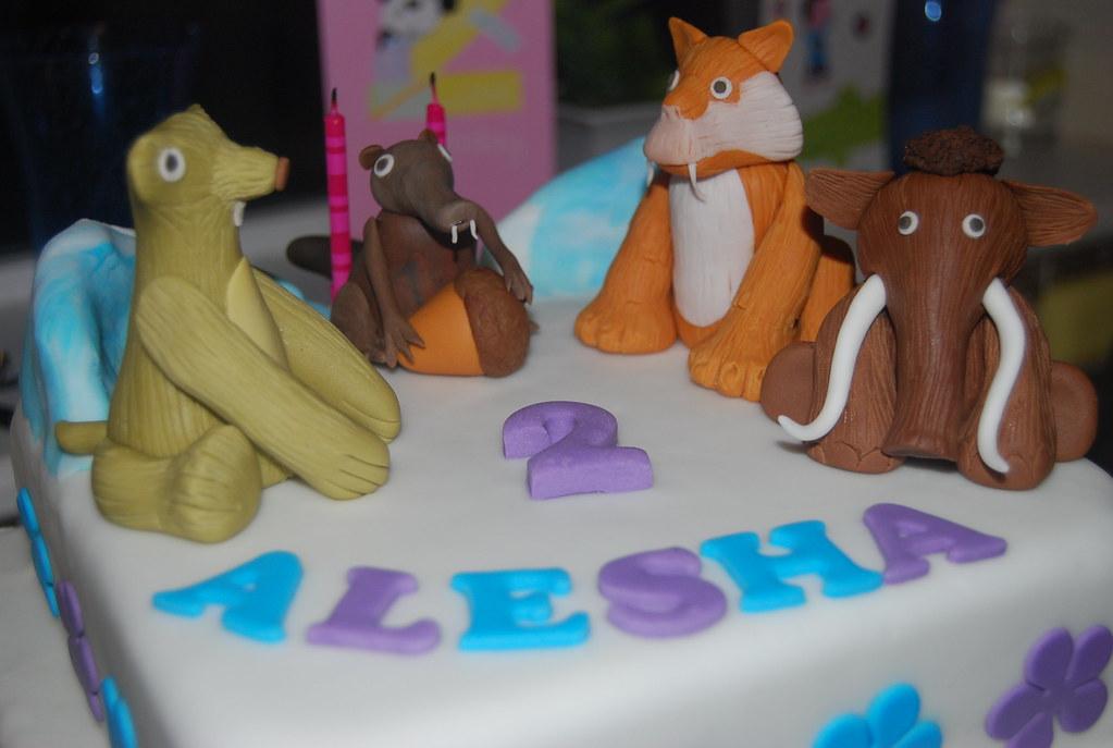 Ice Age Birthday Cake Camellia Kelly Flickr