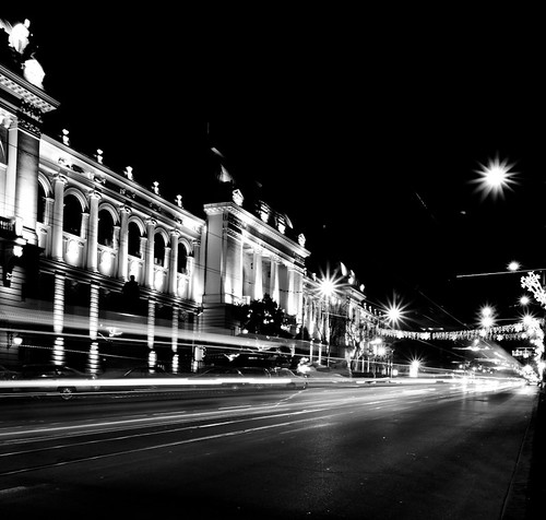 B&W night | by valentin dontov