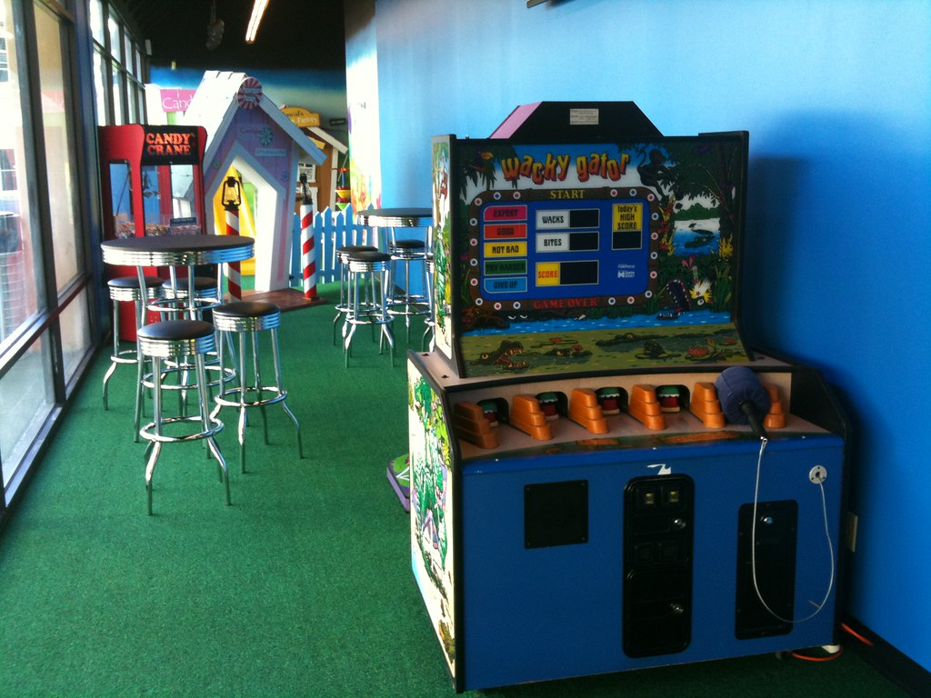 Arcade Game Rooms In Chicago For Kids