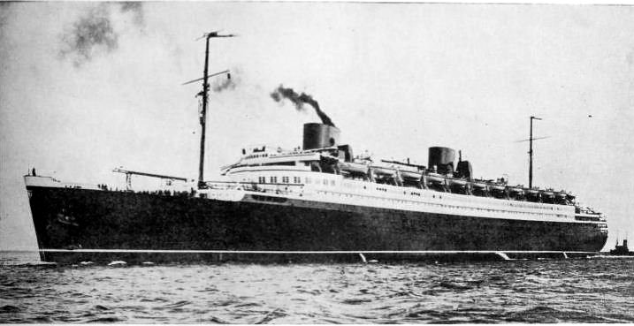 the ss bremen 1929 the ss bremen was a german built ocean flickr. Black Bedroom Furniture Sets. Home Design Ideas