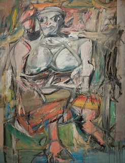 Willem de Kooning, Woman, I, 1950-52 | by Sharon Mollerus