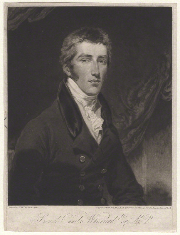 NPG D4766; Samuel Charles Whitbread
