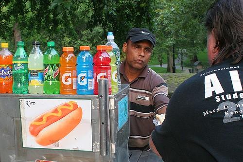 Where Can I Park My Hot Dog Cart