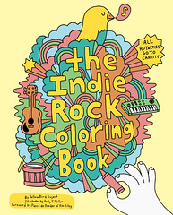 The Indie Rock Coloring Book | by Andy J Miller