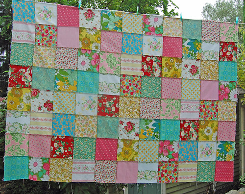 strawberry picnic patchwork... | by rose hip...