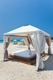 Massage bed on the beach | by Horia Varlan