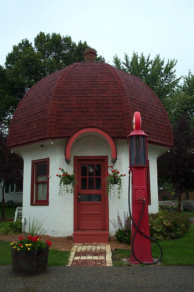 Mushroom House Dassel Mn Sara Duane Flickr