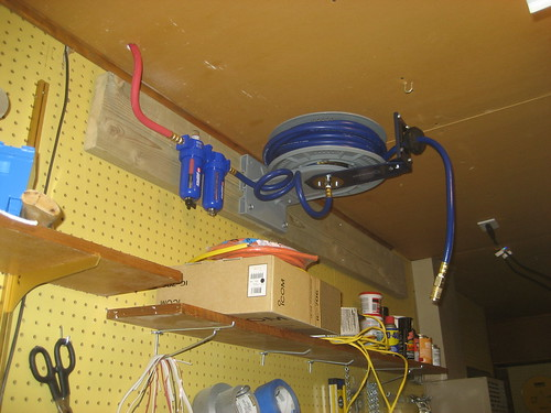 Compressed Air Plumbing In The Shop Added A Compressed