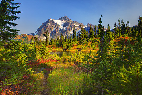 Picture Lake Mt Shukasan | by kevin mcneal