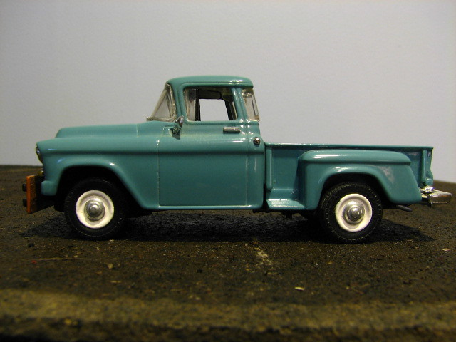 1955 Chevy Truck In 1 43 My Repainted Matchbox Diecast