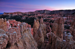 Sunset over Queens Garden Trail, Bryce Canyon National Park | by andrew c mace