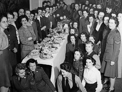 CWAC 42 Company Christmas 1944 | by Galt Museum & Archives on The Commons