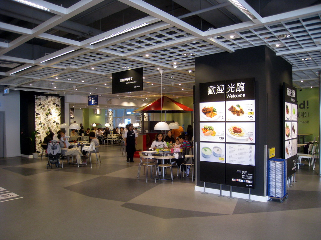 homesquare ikea restaurant tszchungwing flickr. Black Bedroom Furniture Sets. Home Design Ideas