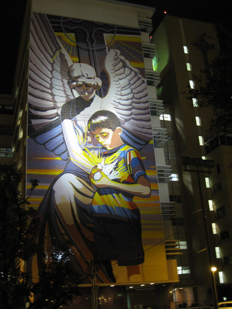 Spirit Of Healing Mural By Jesse Trevi 241 O Across From