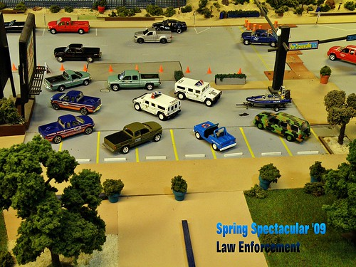 Law Enforcement Day Show A Few 1 64 Scale Law