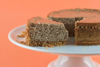 Low and Luscious Chocolate Cheesecake - TWD | by Food Librarian