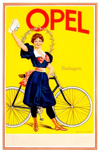Opel Cycles Advert... | by Mark Gell