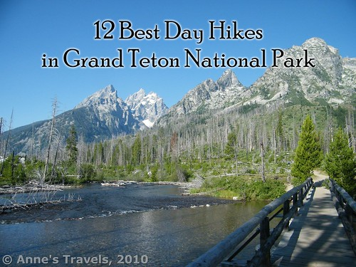 12 Best Day Hikes in Grand Teton National Park. Bridge over the String Lake outlet along the Jenny Lake Trail, Wyoming