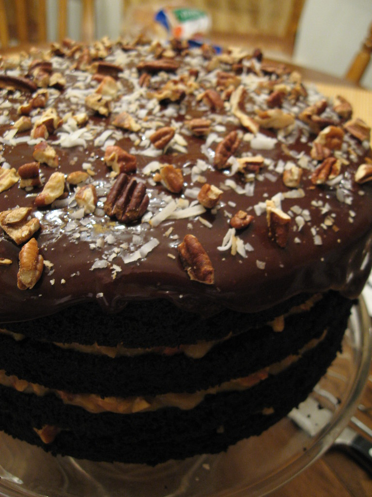 German Chocolate Cake Caramel Cool Whip