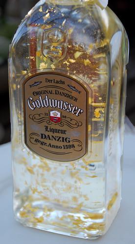Goldwasser gold beer
