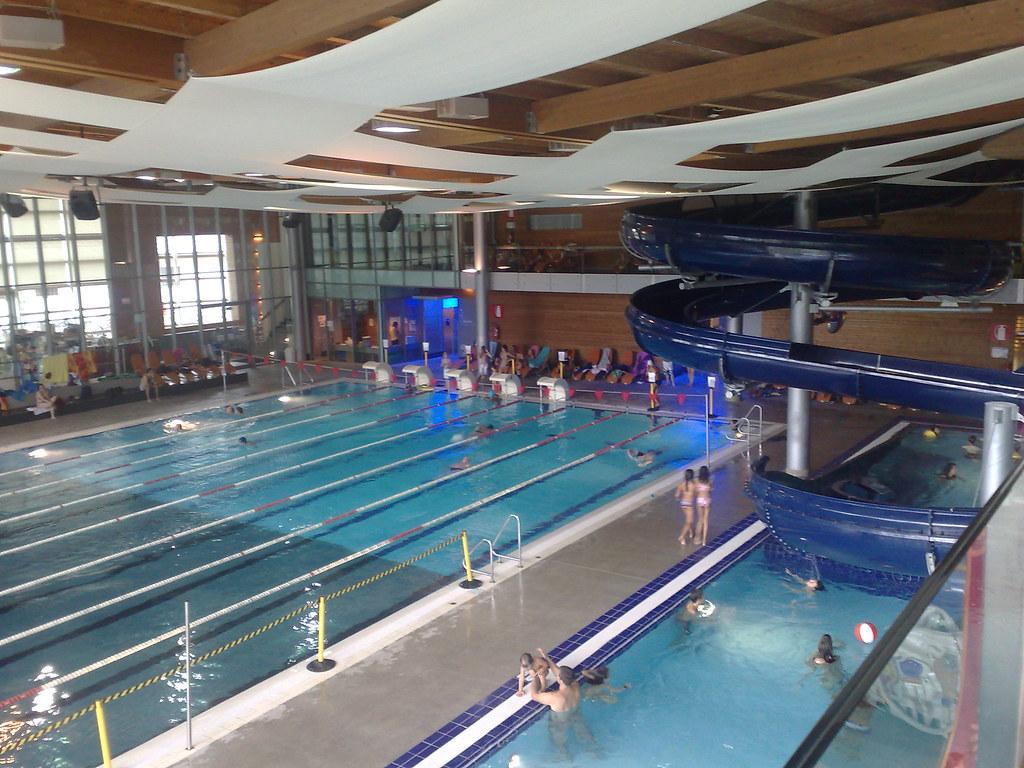 bressanone acquarena bellissima la piscina di
