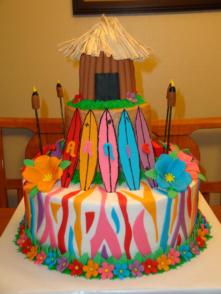 Luau Cake 07 11 09 Umhum1 Flickr