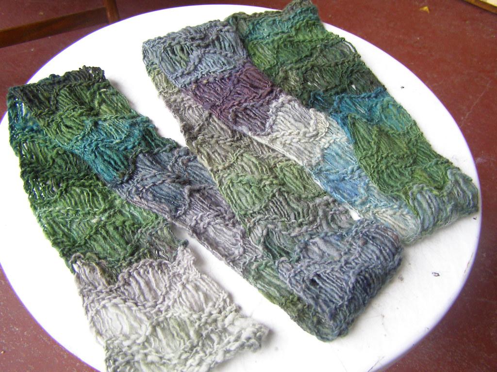 waterfall scarf kit   free pattern.   cosette cornelius-bates   Flickr