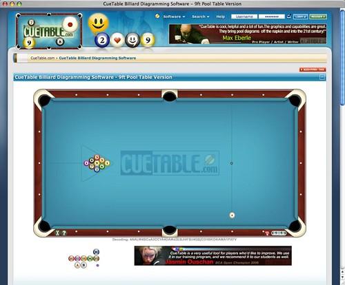 cuetable billiard diagram software pool table version flickrcuetable billiard diagram software pool table version by cuetable