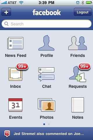 Facebook Iphone Screenshot Flickr