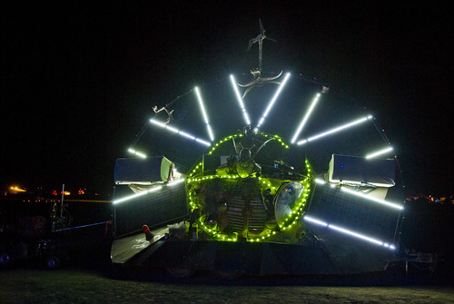 Burning Man 2009 - The Solar Saucer from SLC | by extramatic