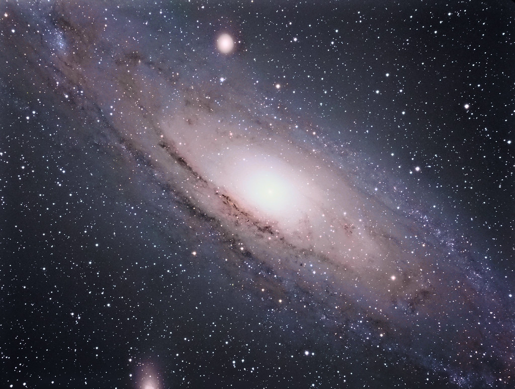 M31, The Andromeda Galaxy | This is ye olde Andromeda ...