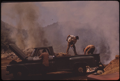 Open Garbage Dump on Highway 112, North of San Sebastian 02/1973 | by The U.S. National Archives