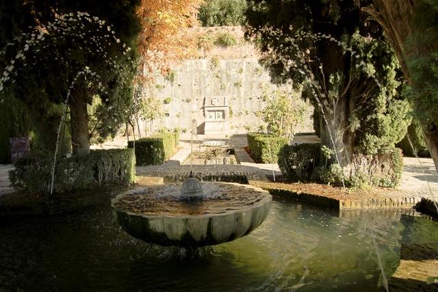 spain by courregesg fontaine jardins de lalhambra grenade spain by courregesg - Jardin De L Alhambra