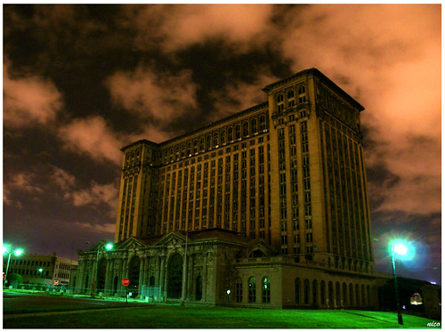 The Detroit's Abandoned Train Station | by Demodragon