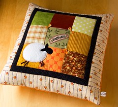 Sheep Pillow Cover | by PatchworkPottery