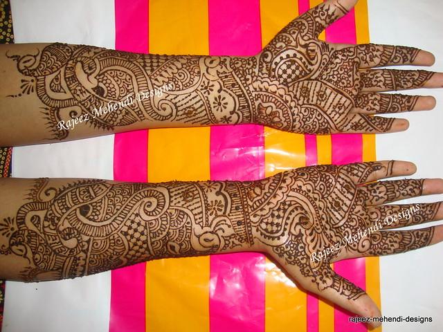 Divya S Bridal Henna Front Hands Nov 24th 2009 Darcy And Flickr