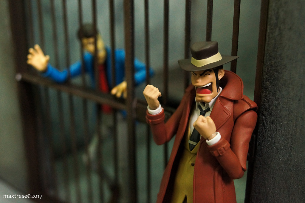 SHF Lupin and Inspector Zenigata in prison