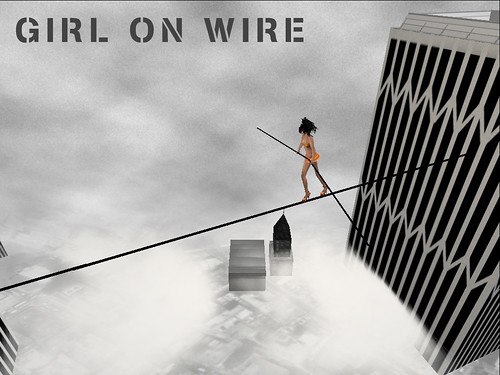 Girl On Wire Coming Soon To Art Box To Mark The 60th