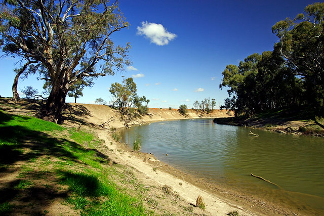 Murrumbidgee river hay new south wales australia the l for South australia landscape