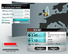 3UK Huawei E5830 - WiFi to London | by bensmithuk