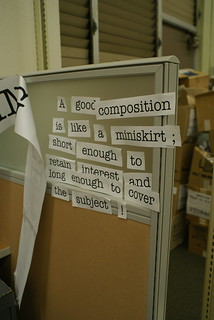 A good compisition is... | by wertheim