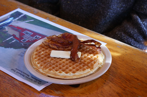 Waffles & Bacon | by QueenieVonSugarpants