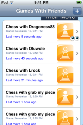 iphone ipod touch chess apps games with friends 2009 flickr. Black Bedroom Furniture Sets. Home Design Ideas