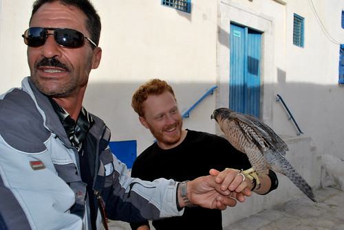 Tyler with Falconer | by goingslowly